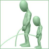 Проблемите с потока на урината са общи и може да се срещнат и при мъже, и при жени.