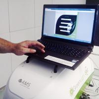 Компютърен симулятор на Зелен лазер в Хил клиник.